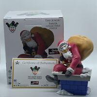 The Joker Santa Collectible Statue Limited Edition Christmas Batman DC Comics