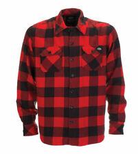 Dickies Sacramento Shirt Regular Fit Long Sleeve Shirt Red