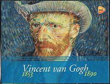 Netherlands complete set of 8 souvenir sheets Vincent van Gogh Year