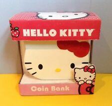 Hello Kitty Ceramic Piggy Bank New in Box - Sanrio 2009