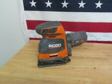 Ridgid 18 V Sheet Sander Octane Sandpaper  3-Speed Tool Only R86064b 407