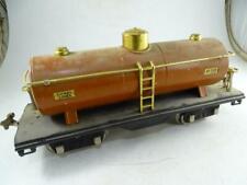 Antique Lionel Railroad Train Model Pre-War 515 Standard Gauge Tanker Car Tank