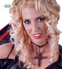 Cross Necklace Halloween Vampire