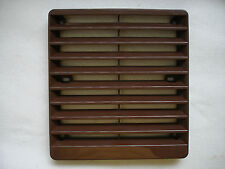 BROWN FAN GRILLE FOR 6in. (150mm) OR SMALLER  FANS FOR RIGID DUCT NO BOSS, FLAT