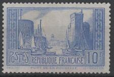 "FRANCE STAMP TIMBRE N° 261 d "" PORT LA ROCHELLE 10F OUTREMER "" NEUF xx TTB K767"