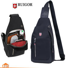 Brand Chest swiss Bag Shoulder Backpack small Travel Sport fashion leisure gear