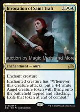 Shadows Over Innistrad ~ INVOCATION OF SAINT TRAFT rare Magic the Gathering card