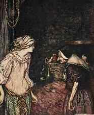 A4 Foto los cuentos de hadas de los hermanos Grimm 1909 3 impresión Cartel