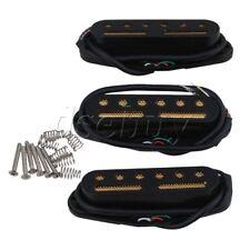 3PCS Black 48/50/52mm Single Coil Pickup to Humbucker Electric Guitar
