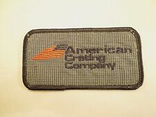 Vintage American Crating Company Iron On Patch- Located in Tulsa, Oklahoma