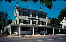 Griswold Inn Restaurant Essex Connecticut CT Tap Room Schoolhouse Postcard