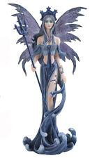 "Blue Fairy Figurine Statue 10"" High New In Box"
