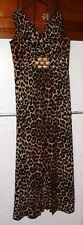 Beautiful Looking Vintage Leopard Print Acetate Dress-14 !