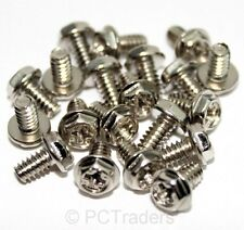 20x 6-32 6mm Coarse PC Computer Case Expansion Card PSU Screws - FREE UK P&P