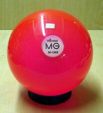 = 13.65# MIKASA MG ACRYLIC Transluscent Pink Clear Bowling Ball