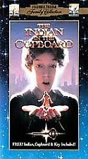 The Indian in the Cupboard (VHS, 2000, Clam Shell Case Closed Captioned)