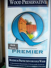 Premier Q Wood preservative 5L Rich Brown paint stain
