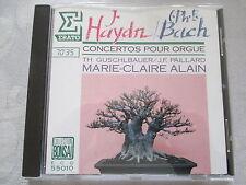 Haydn, Bach Concertos - Marie-Claire Alain, Guschlbauer, Paillard - CD no ifpi