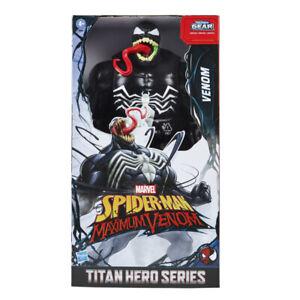 Venom - Figura - Spiderman Titan Hero Series - 4 AÑOS+