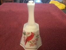 Red Bird Ceramic Bell