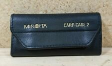 Minolta card case 2 for Maxxum mode/effect cards Holds 10 - Vintage