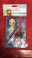 Disney's Frozen Stationary Journal Set W/ Pen Writing Elsa Anna Olaf New
