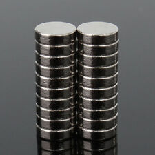 NE_ 20Pcs Super Strong Round Disc Magnets Rare-Earth Neodymium Magnet N52  Graci