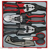 Teng Tools Pliers Scissors Cutters Snips Cable Cutters Tool Set