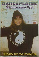 Dance Planet ~ DJ Rap @ Merchandise Flyer. Rave Flyers
