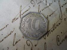 Pièce 10 centimes  chambre de commerce de Bayonne 1920