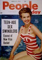 Pinup Magazine 1955 Gale Storm Marilyin Monroe People Today Pocket V10N5 NM/M