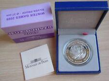 Frankreich 10 Euro 2009 Olympia Vancouver Ski Alpin Silber