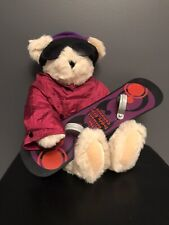 Vermont Teddy Bear Jointed Posable Original Snowboard Handmade In Vermont