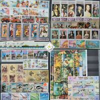 Worldwide Stamp Collection Used - 30 Full Sets from 15+ Different Countries