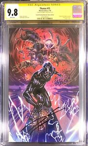 THANOS #15 4th Print Virgin CGC SS 9.8 (1st Silver Surfer Black) Signed Cates