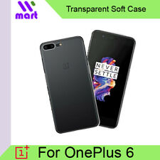 TPU Transparent Soft Case for OnePlus 6