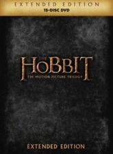 Hobbit Trilogy - Extended Edition 5051892193788 With Christopher Lee DVD