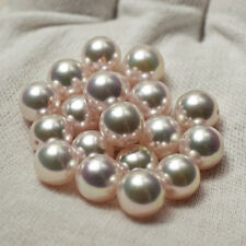 Wholesale Loose White Pink New Real Genuine Akoya Pearl From Japan 9mm 8mm Pair