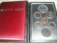 1979 Canada Double Dollar Set (7 Coins Cent to Silver Dollar Mint Set)