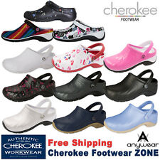 Cherokee Anywear ZONE Unisex Workwear Injected Clog with Backstrap Shoe