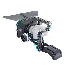 FOTGA DP500III Matte Box + QRA/B Hard Stop Follow Focus + Baseplate + Handle Kit