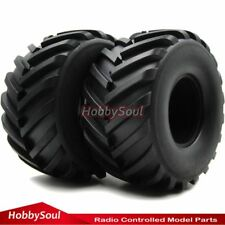 2pc 2.2 Truck Badland Monster Big foot Tires Fit RC 4WD Axial RPM 2.2'' Wheels