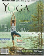 Yoga International Magazine Summer 2017 The Mindfulness Issue
