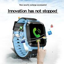Blue GPS Tracker Anti-Lost SOS Smart Watch for Kids Children w/ Camera SIM Calls