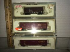 Three  N scale Con-Cor, freight cars  free shipping  Discontinued