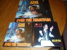 "OZZY OSBOURNE RANDY RHOADS OVER THE MOUNTAIN 12"" LP 7"" RECORD LIMITED POLKA DOT"