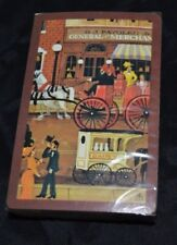 Vintage Hoyle Playing Cards Old Fashion Dairy Cart Wagon Horse Fire Wagon Sealed