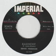 ERNIE FREEMAN 45 RAUNCHY B/W PUDDIN' EX IMPERIAL X5474 INSTRUMENTAL