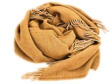 Agarraron Plaid 140 x 200 cm 100% lana merino, Caramel