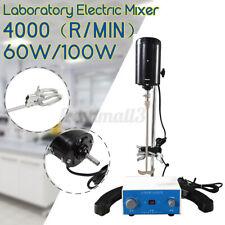 60/100W 4000RPM Laboratory Electric Mixer Desktop Scientific Digital Overhead